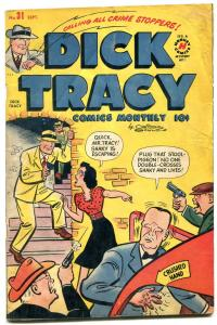 Dick Tracy #31 1950- Harvey Comics- Chester Gould- VG-