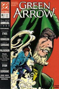 Green Arrow (1988 series) Annual #2, Fine- (Stock photo)