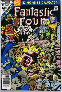 Fantastic Four Annual #13 ORIGINAL Vintage 1978 Marvel Comics