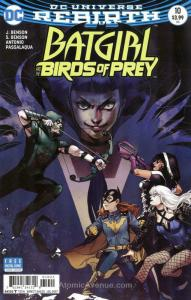 Batgirl And the Birds of Prey #10A VF/NM; DC | save on shipping - details inside