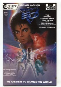 Captain EO 3-D #18 1987 Eclipse Michael Jackson comic book