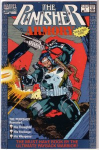 Punisher Armory #1 VG (1990) Jim Lee cover