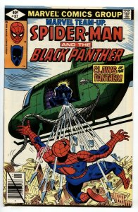 Marvel Team-up #87-SPIDER-MAN, BLACK PANTHER comic book