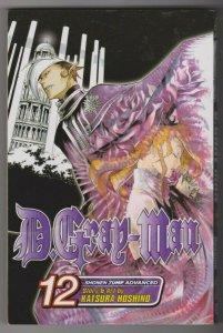 D. GRAY-MAN #12 Story & Art by KATSURA HOSHINO / SHONEN JUMP ADVANCED 2009