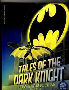 Tales of the Dark Knight, Batman 3D DC TPB Graphic Novel Comic Books J342