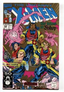 X-MEN #282 2nd print comic book-FIRST BISHOP-JOHN BYRNE-KEY ISSUE
