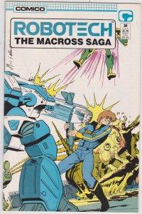 Robotech: The Macross Saga #34