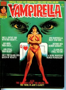 Vampirella #49 1976-Warren-Vampi cover-terror & mystery stories-VG/FN