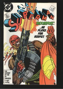 SUPERMAN 4 NM 9.6-9.8 UNREAD, 1st BLOODSPORT;SUICIDE SQUAD;GO COLLECT&q...