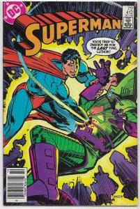 Superman   vol. 1   #412 VG Lex Luthor