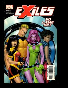 Lot Of 12 Exiles Marvel Comics # 15 16 17 18 19 20 21 22 23 24 25 26 X-Men EK10