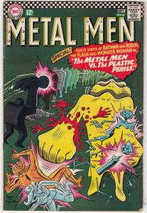 Metal Men #21 (Sep-66) VG/FN+ Mid-Grade Metal Men (Led, Tina, Tin, Gold, Merc...
