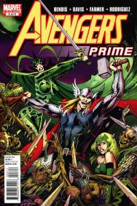 Avengers Prime #3, NM- (Stock photo)