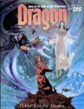TSR DRAGON MAGAZINE #205 VF