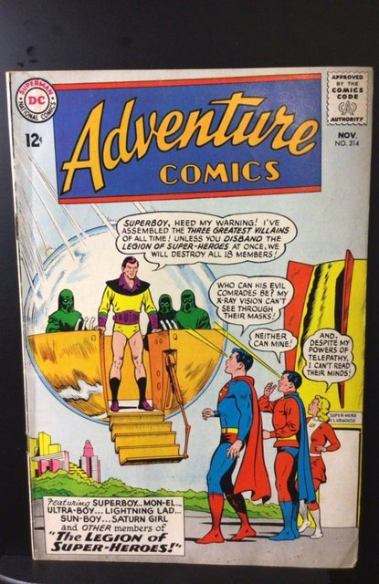 Adventure Comics #314 (1963)
