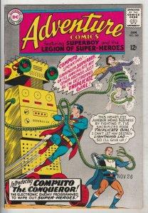 Adventure Comics #340 (Jan-66) NM Super-High-Grade Legion of Super-Heroes, Su...