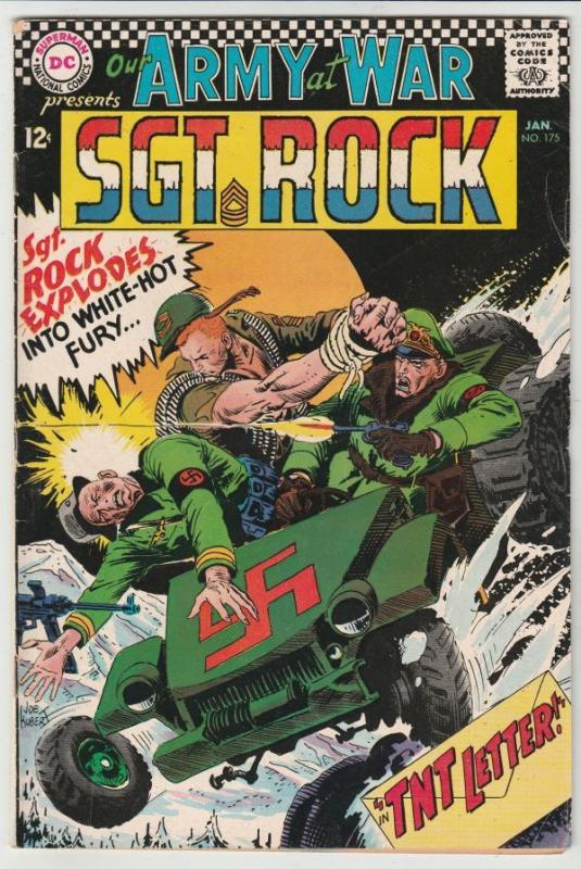 Our Army at War #175 (Jan-67) FN+ Mid-High-Grade Easy Company, Sgt Rock