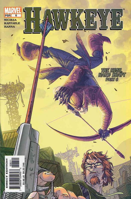 Hawkeye (3rd Series) #6 VF/NM Marvel - save on shipping - details inside