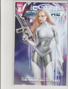 Cyber Spectre #2 Kickstarter Exclusive Cover Ula Mos Scout Comics NM