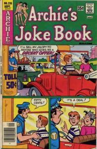 Archie's Jokebook Magazine #236 VG; Archie | low grade comic - save on shipping