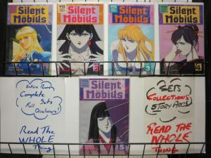 SILENT MOBIUS PART 3 (1992 VIZ)1-5 KIA ASAMIYA complete