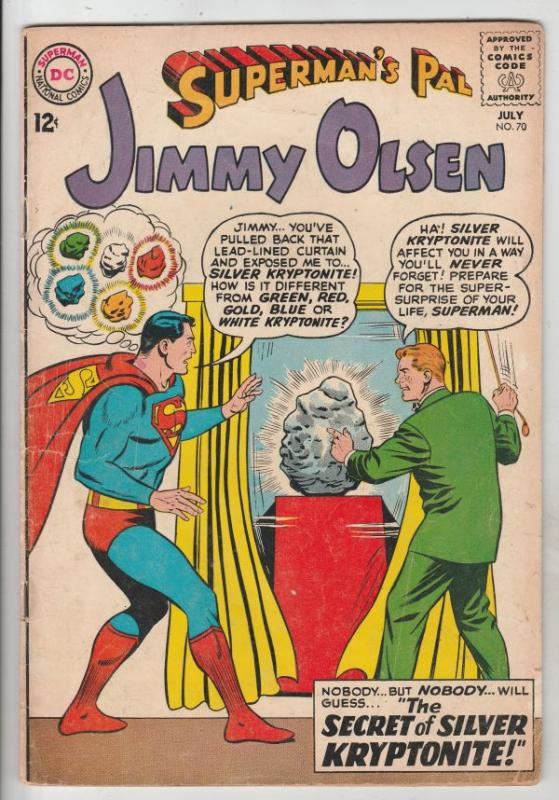Superman's Pal Jimmy Olsen #70 (Jul-63) FN Mid-Grade Jimmy Olsen