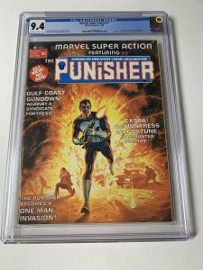 Marvel Super Action 1 Cgc 9.4 Ow/w Pages (copy B) Punisher Story