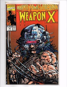 Marvel Comics (1988) Marvel Comics Presents #79 Weapon X Pt7 Barry Windsor-Smith