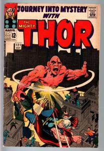 JOURNEY INTO MYSTERY #121--SILVER AGE MARVEL--THOR--JACK KIRBY VG