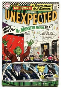 TALES OF THE UNEXPECTED #94 1966-DC-SCI FI Monster Mayor