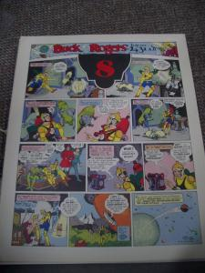 BUCK ROGERS #8-ITALIAN SUNDAY STRIP REPRINTS-CALKINS FN