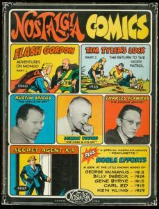 NOSTALGIA COMICS #1-FLASH GORDON-SECRET AGENT X9-TPB VG