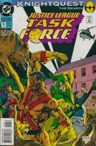 Justice League Task Force #6 VF/NM; DC   save on shipping - details inside