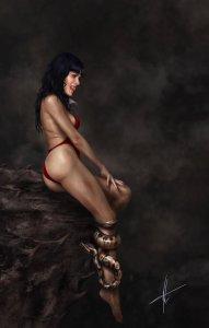 Vampirella #11 Carla Cohen ONLY 300 PRODUCED WITH COA