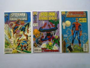 Spider-Man Funeral for an Octopus Set:#1-3, 6.0/FN (1995)