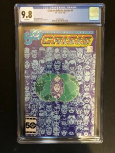 Crisis on Infinite Earths #5 CGC 9.8 1985 DC Comics high grade GEORGE PEREZ