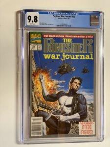 Punisher War Journal 32 Cgc 9.8 Wp Marvel Newsstand Edition