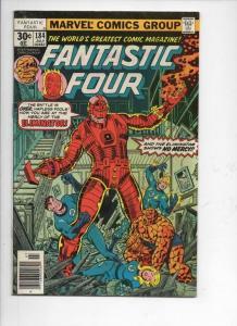 FANTASTIC FOUR #184, VF+, Eliminator, Perez, 1961 1977, more FF in store