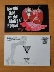 MENSE INSANA Promo Postcard VERTIGO COMICS 1997 JOHN BOLTON ART! 4x6 NEW!