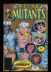 New Mutants #87 FN/VF 7.0 1st Cable! 2nd Print!