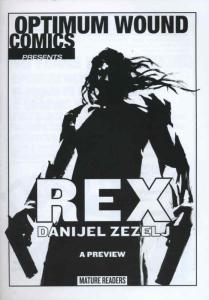 Rex Ashcan #1 VF/NM; Optimum Wound   save on shipping - details inside
