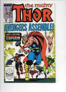 THOR #390 VF/NM God of Thunder Captain America 1966 1988, more Thor in store