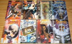 Scarab #1-8 VF/NM complete series - vertigo comics - glenn fabry 2 3 4 5 6 7 set