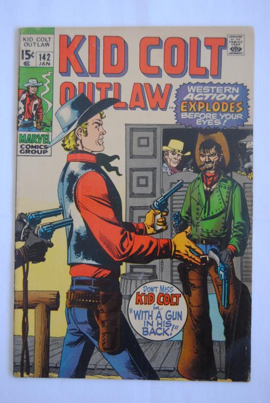 Kid Colt Outlaw #142