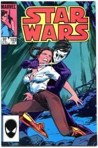 STAR WARS #103, VF-, Luke Skywalker, Darth Vader, 1977, more SW in store