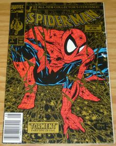 Spider-Man #1 (Newsstand) (2nd) VG; Marvel | low grade comic - gold UPC
