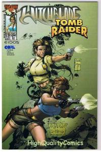 WITCHBLADE TOMB RAIDER #1/2, NM+, Femme Fatale, 2000, more in store