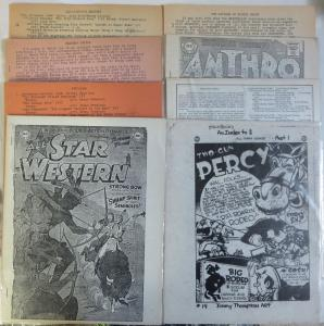 DC Comics Index Lot of 8Diff by Michael Tiefenbacher + more Western All-Stars++