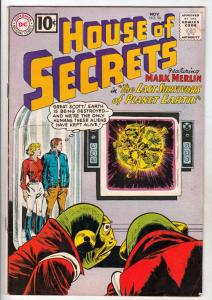 House of Secrets #50 (Nov-61) VG/FN+ Mid-Grade Mark Merlin