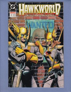 Hawkworld #2 VF/NM DC 1990
